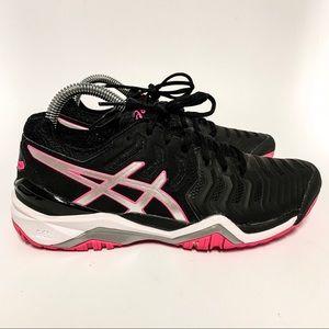 Asics Gel Resolution 7 Tennis Shoes Sz 7
